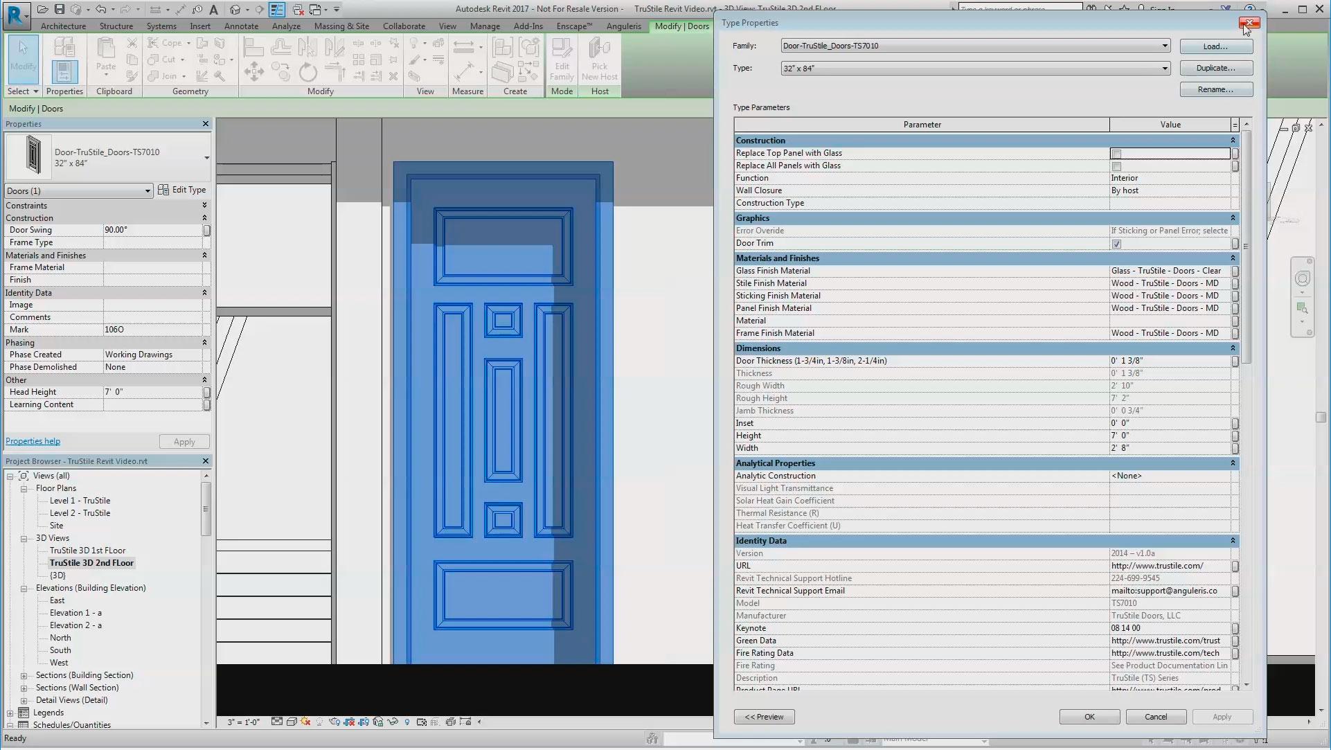 3D Model Library | TruStile Doors