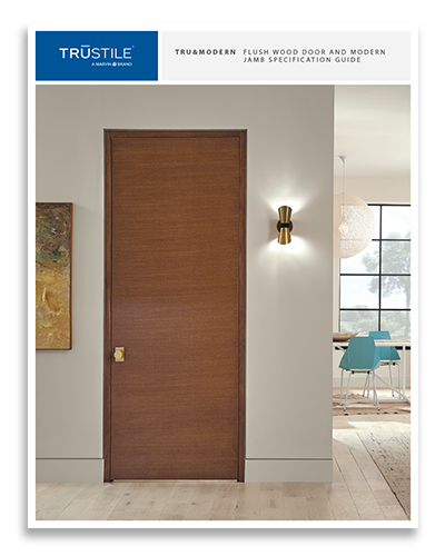 Download the Flush Wood Door and Modern Jamb Specification Guide