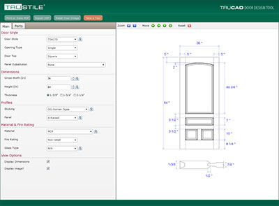 Why trustile trustile doors for Door design tool