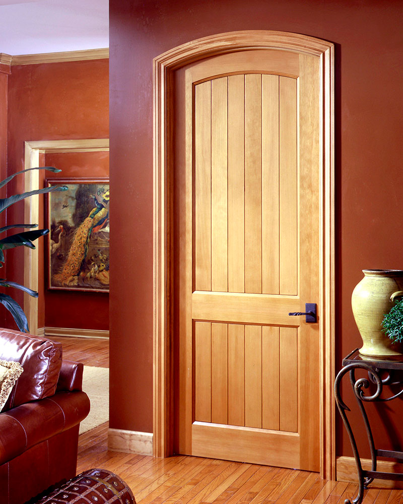 VG2020 arch-top in douglas fir & Arched Door Options | TruStile Doors