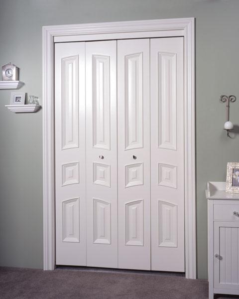 Closet doors trustile doors for Porte pliante miroir