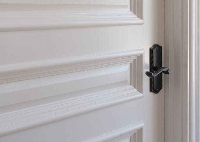 MDF interior door