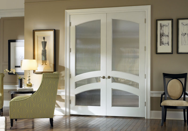 Glass doors trustile doors ts3160 common arch pair in mdf with narrow reed glass planetlyrics Image collections