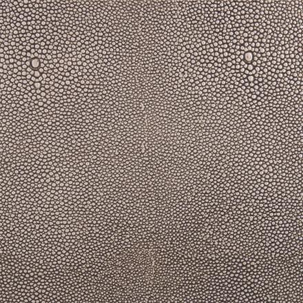 Edelman® Shagreen Grey Oyster Leather