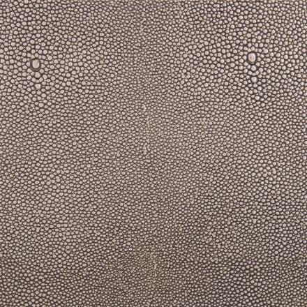 Edelman® Shagreen Grey Oyster Leather