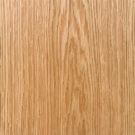 Wire-brushed plain sawn oak