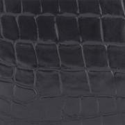 Edelman® Croc Black Leather