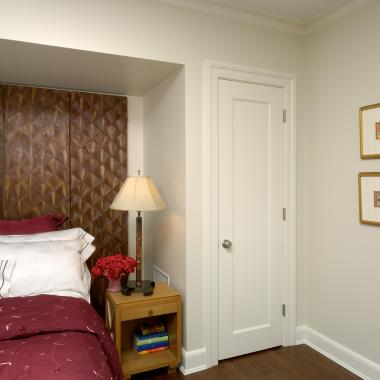TS1000 bedroom door in MDF with Roman Ogee (OG) sticking and Flat (C) panel.