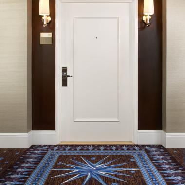 Superb The Simple Form, Wide Proportions And Deep Carved Moulding Of This TS1000  Hotel Room Entry