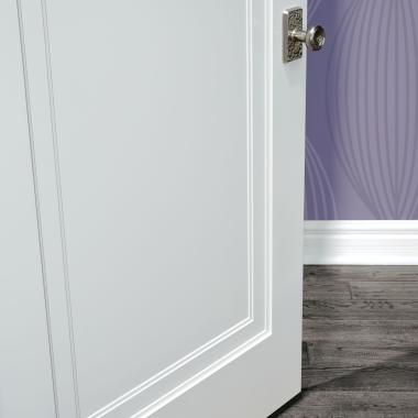 zoom Detail of TS1000 in MDF with Miracle tiered moulding & Photo Gallery | TruStile Doors