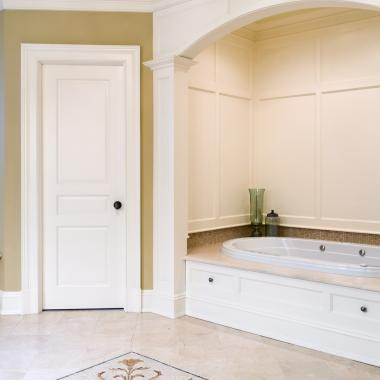Master bath with TS3070 in MDF
