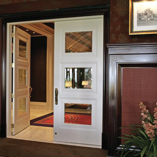 Custom mirror doors for Wynn Las Vegas