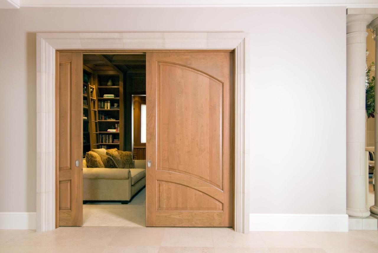 Cherry TS2050 Study Pocket Doors