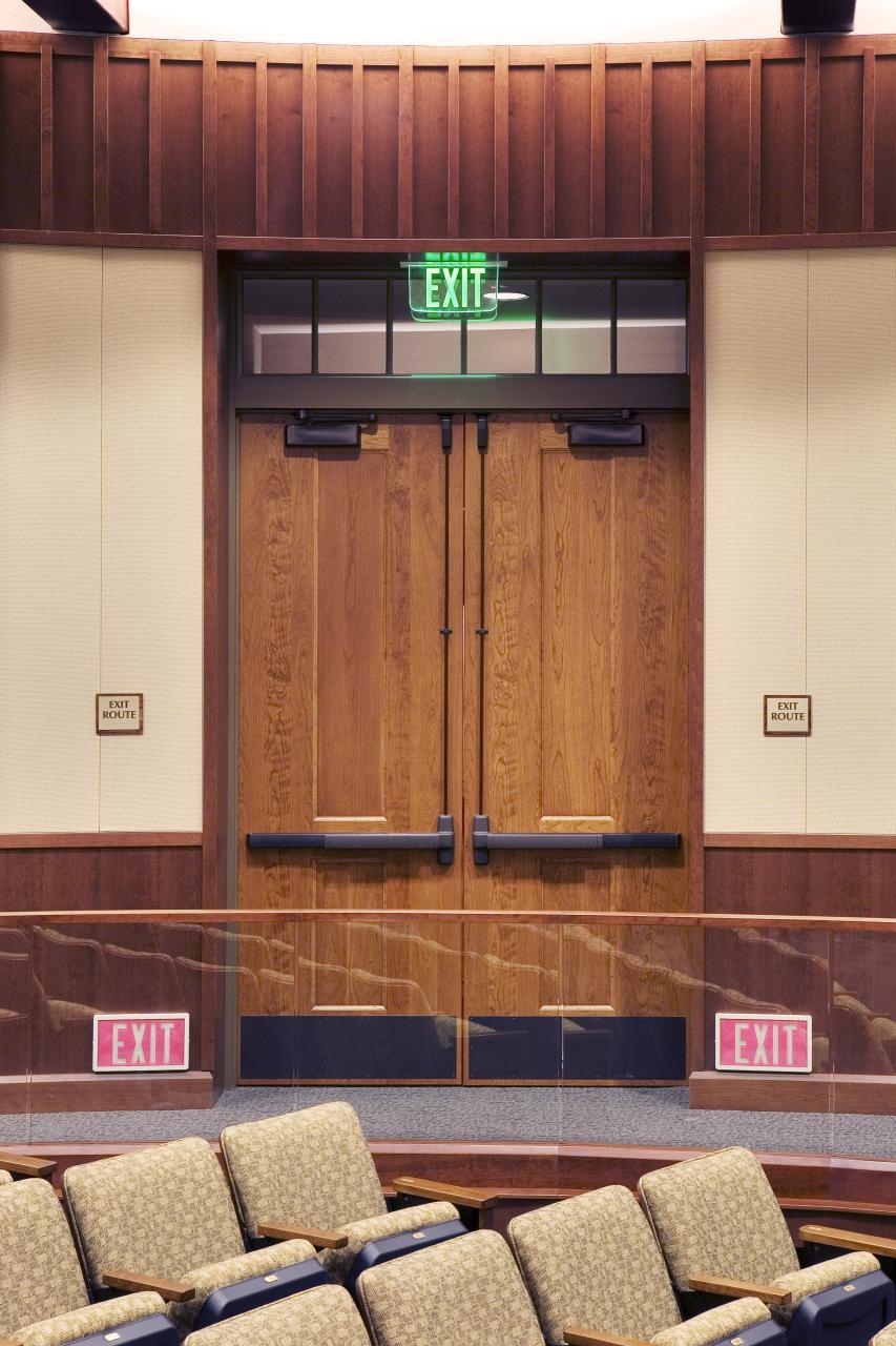City Council Chamber Doors & Photo Gallery | TruStile Doors