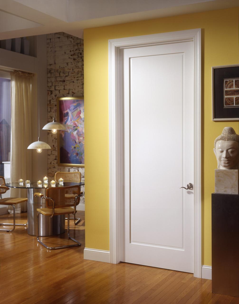 Plain White Interior Doors contemporary plain white interior doors 4 panel primed door