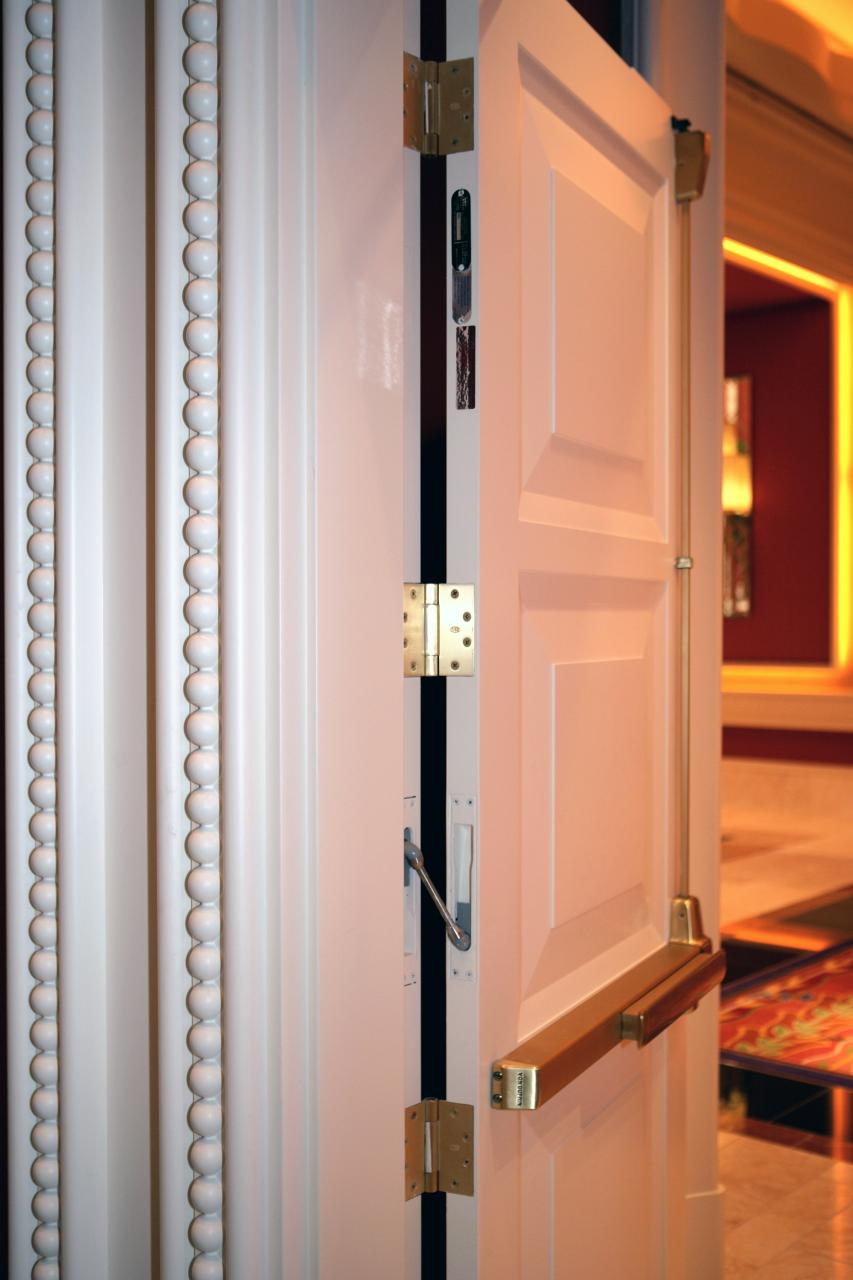 Wynn las vegas door trustile doors for Trustile doors cost