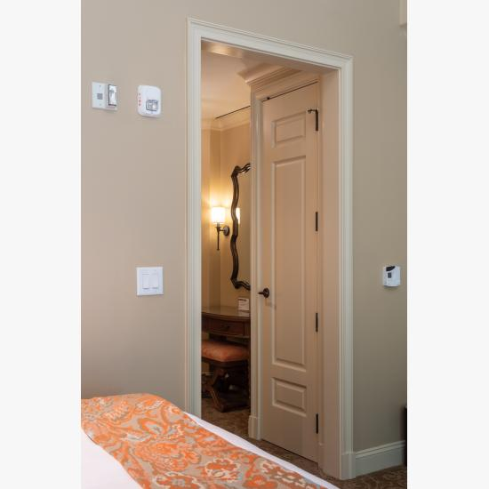 TS3100 closet door in MDF with Roman Ogee (OG) sticking and Scoop (B) panel.