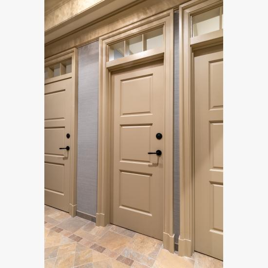 TS3000 doors in MDF with Roman Ogee (OG) sticking and Scoop (B) panel.